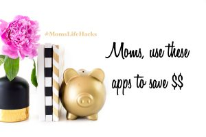 gold piggy bank and books on techy money saving hacks