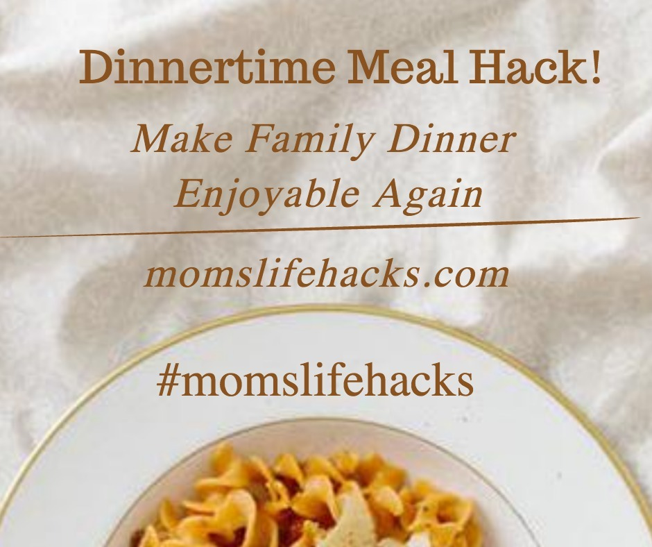 dinnertime meal hack to make dinner more enjoyable bowl of pasta pictured