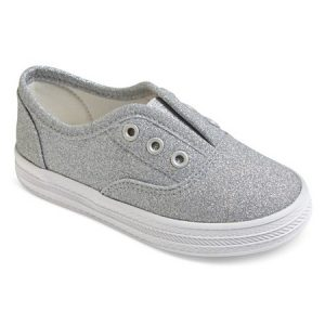 grey toddler sneakers with no laces to match kids spring outfits