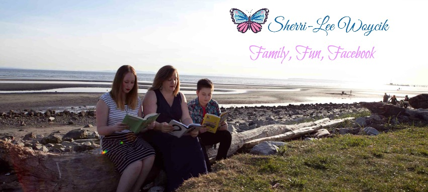 life after divorce social media minder mom with daughter and son sitting on the beach reading books
